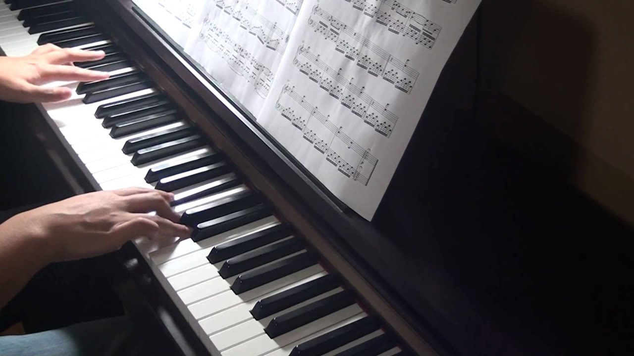 how to play a thousand years on piano slow