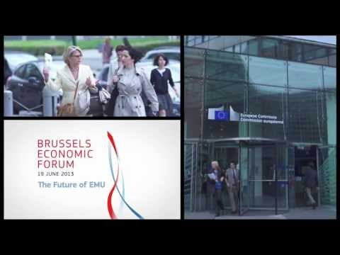 Brussels Economic Forum 2013 - 19 June 2013: The Future of EMU