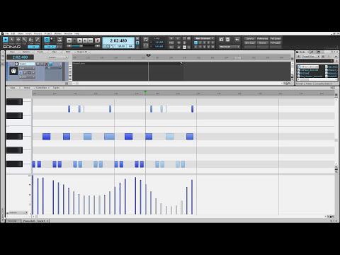 SONAR Get Started: MIDI Enhancements