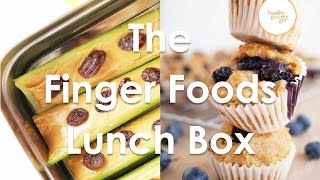 Fall Recipes: The Finger Foods Lunch Box | Quick Healthy Lunch Ideas | Healthy Grocery Girl® Show