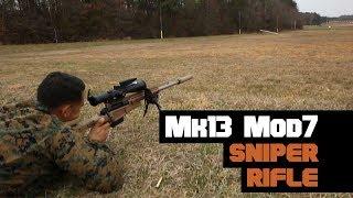 Inside the Marine Corps Mk 13 Mod 0 sniper rifle