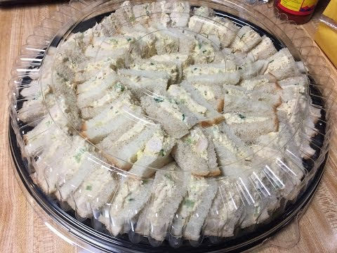How to Make - CHICKEN SALAD Platter