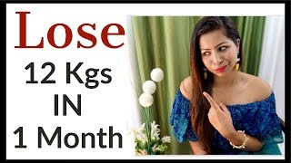 Full Day Diet/Meal Plan for Weight Loss | How to Lose Weight Fast Upto 12 Kg in 1 Month | Fat to Fab