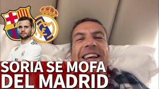 Las burlas de Soria tras el 5-1... atentos a Nacho | Diario AS