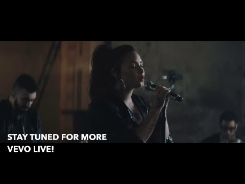 Vevo Live with Demi Lovato