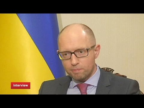 'Eastern Ukrainians 'hate Russian-led guerrillas' -- Yatsenyuk