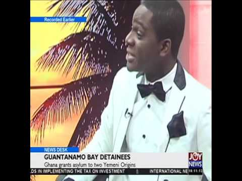 Guantanamo bay detainees - News Desk on Joy News (7-1-16)