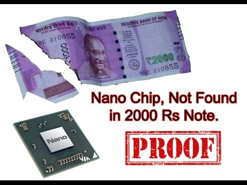 2000 Indian Rupees Note Has No GPS Tracking Chip