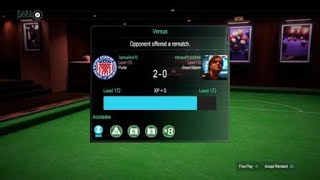 Pure Pool™,Snooker Master against Hitman07LEGEND,thanks for the games.