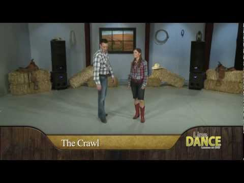 Line Dance - Watermelon Crawl Country Line Dance Instruction video