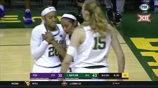 TCU vs Baylor Women's Basketball Highlights