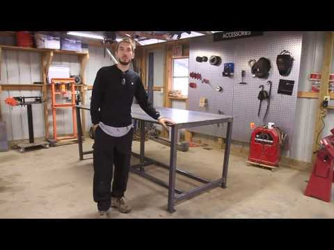 BleepinJeep Builds a Welding Table