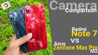 Zenfone Max Pro M2 VS Redmi Note 7 Camera Comparison | Day Light Samples