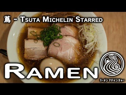 MICHELIN STARRED RAMEN in Japan