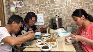 |Tập 148| Mẹ chồng nấu MIDUDUK HẤP GIÁ ĐẬU NÀNH ăn cơm chiều.콩나물 미드득찜 만들기.