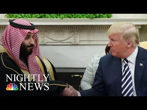 Trump Supports For Saudi After Breaking With CIA Assessment On Khashoggi Murder | NBC Nightly News
