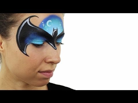 Batman Face Painting Tutorial