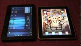 Viewsonic G-Tablet vs Apple iPad