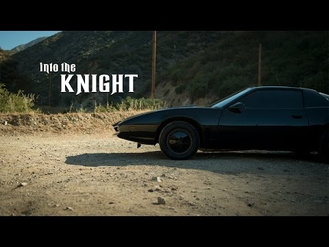 1986 Pontiac Firebird - David Hasselhoff With Kitt From Knight Rider video