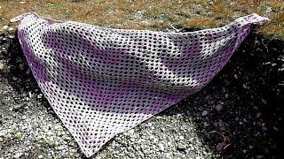 Anleitung Einfaches Tuch Häkeln Mit Variationsmöglichkeiten