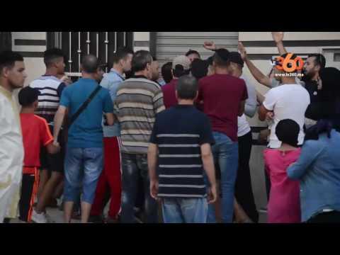 شاهد لحظة اعتداء محتجي الحسيمة على طاقم دوزيم