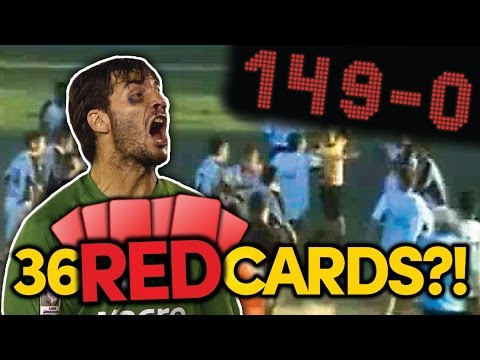 SUBSCRIBE to FOOTBALL DAILY: http://bit.ly/fdsubscribe From the quickest red card coming in just 2 seconds to a game involving 179 goals, we're confident these incredible records will...