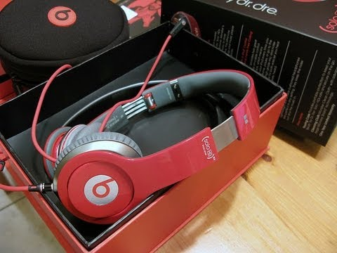 Fake Red Solo HD Beats + Sound Test (Replica) Dhgate - Flydream