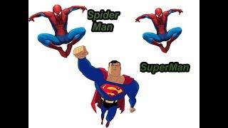 Superman vs Spiderman Khi Siêu nhân đại chiến với người nhện