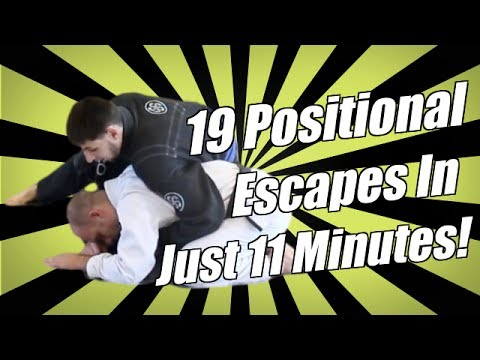 19 BJJ Positional Escapes in 11 Min - Turtle, Headlock, Cradle, Crucifix - Jason Scully Image 1