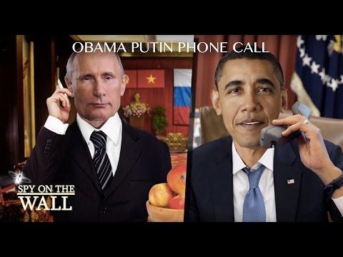 Obama Putin Phone Call - Spy on the Wall Ep1