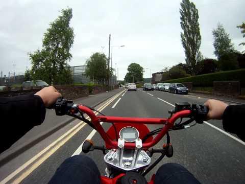 Go pro shineray xy50pyie road legal 50 pit bike