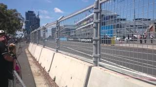 video half way down main straight at the 2014 Sydney NRMA 500 for V8Supercars. Qualifying on Sunday. And no, TV doesn't do them justice......