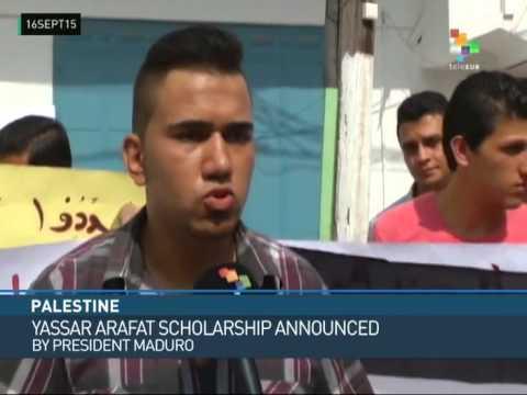 Gaza: Venezuelan Scholarship Students Protest Delay