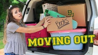 Twins MOVING OUT | Saying Goodbye to Freshman Year & Bonus ASMR????