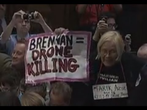 Protesters Interrupt John Brennan at Confirmation Hearing - NYT
