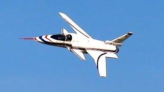 GIANT RC X-29 GRUMMAN FUTURISTIC MODEL TURBINE JET FLIGHT DEMO / Euroflugtag Rheidt 2016
