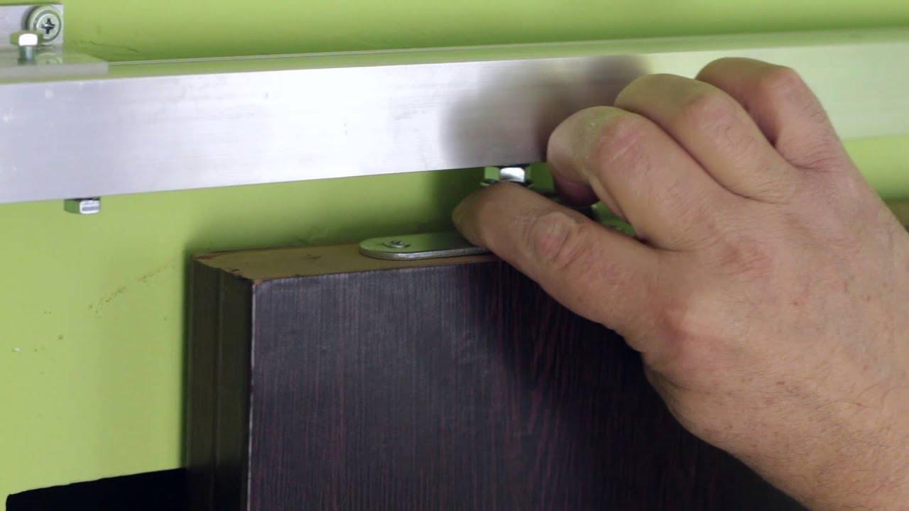 Как своими руками сделать межкомнатную дверь купе своими руками