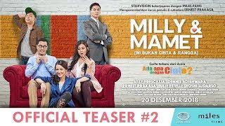 Download Lagu MILLY & MAMET (Ini Bukan Cinta & Rangga) - Official Teaser #2 Gratis STAFABAND