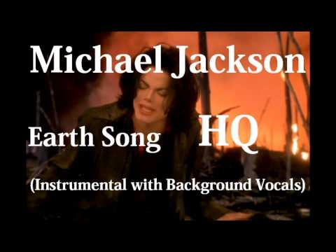 Michael Jackson - Earth Song (Instrumental with Background Vocals)