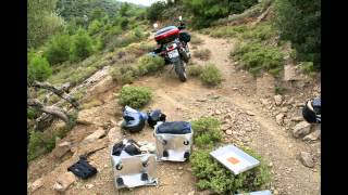 TOURATECH ZEGA BOXES CRASH TEST...