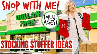 DOLLAR TREE SHOP WITH ME STOCKING STUFFER IDEAS ALL AGES | DOLLAR TREE HAUL 2018