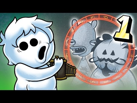 Oney Plays D WITH FRIENDS - EP 4 - Spaghetti Horror - BONEY PLAYS