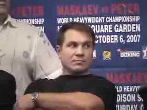 "Madison Square Garden will host the fight between WBC Heavyweight Champion Oleg Maskaev against WBC No.1 Ranked Mandatory Challenger Samuel ""The Nigerian Nig..."