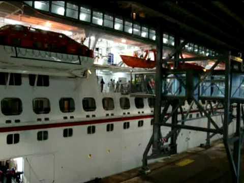 CARNIVAL DREAM inaugurates TEAM new generation Passenger Boarding Bridge
