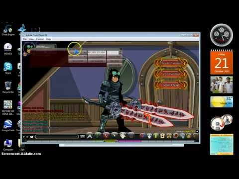 =Aqw= How To Get Sky Guard Hair (Non-mem)
