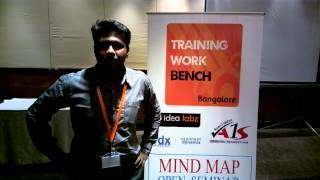 Sidlingu - Yogesh on Mind Map Training by Dharmendra Rai