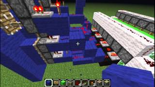 Minecraft - How to make a redstone digital timer/clock