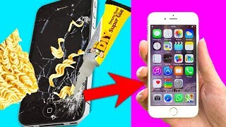 Trying 25 CRAZY HACKS AND CRAFTS THAT ACTUALLY WORK By 5 Minute Crafts