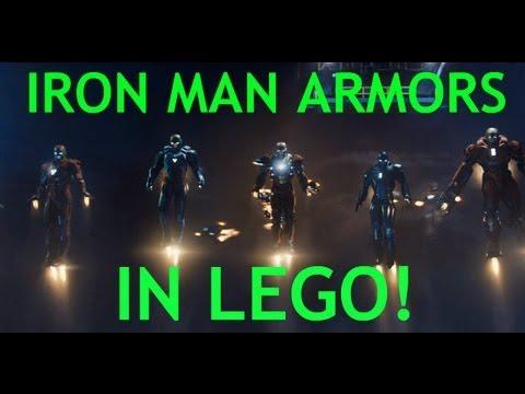 LEGO Iron Man 3 Custom Minifigure Review: Armors and More!