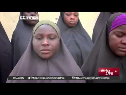 Footage reportedly shows some of the kidnapped Chibok girls